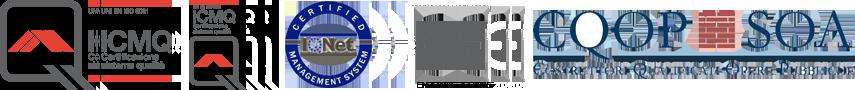 loghi certificazioni ASTer