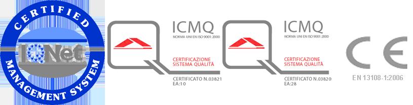 marchi di certificazione qualità A.S.Ter.