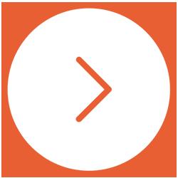 freccia bianca arancione