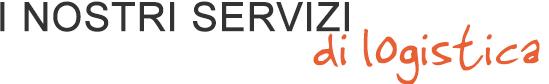 i nostri servizi di logistica - ASTer
