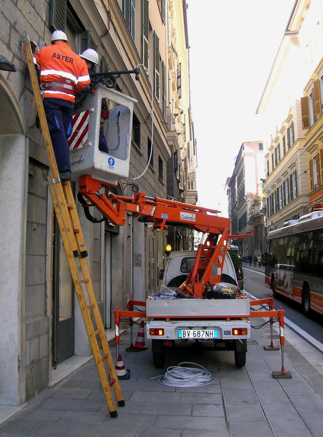 Interventi di manutenzione sugli impianti