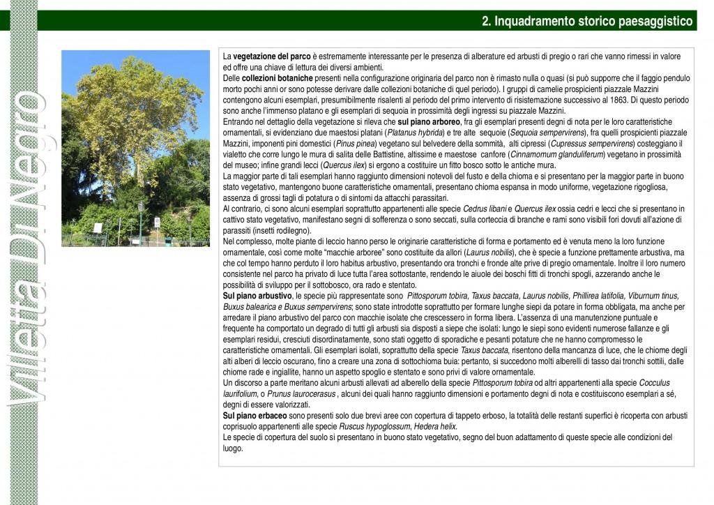depliant riqualificazione del Parco di Villetta di Negro