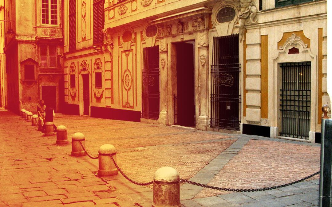 Realizzazione della nuova illuminazione di Piazza Inferiore di Pellicceria