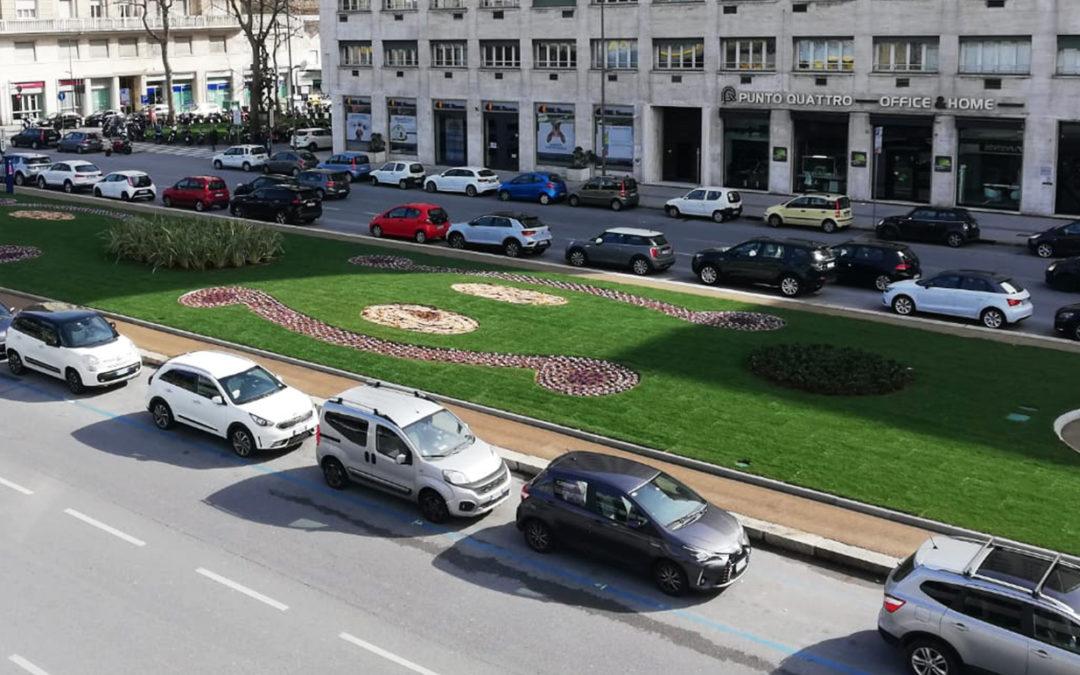 LA FOCE RINASCE VERDE: inaugurate le nuove aiuole di Viale Brigate Partigiane