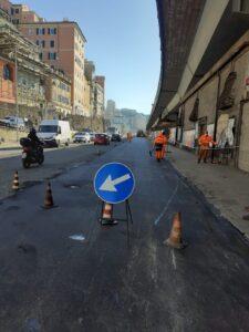 Lavorazioni in Corso Aurelio Saffi-Corso Quadrio (Prima)