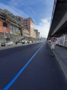 Lavorazioni in Corso Aurelio Saffi-Corso Quadrio (Dopo)