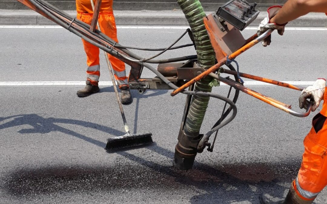 Interventi di ripristino puntuale del manto stradale cittadino: il report mensile AGOSTO 2021