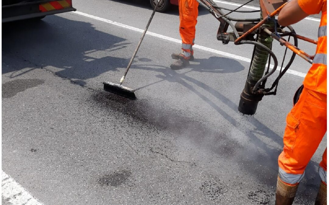 Interventi di ripristino puntuale del manto stradale cittadino: il report mensile di LUGLIO 2021