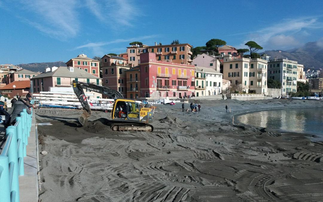 Vernazzola: A.S.Ter sta intervenendo per rimettere la spiaggia in sicurezza
